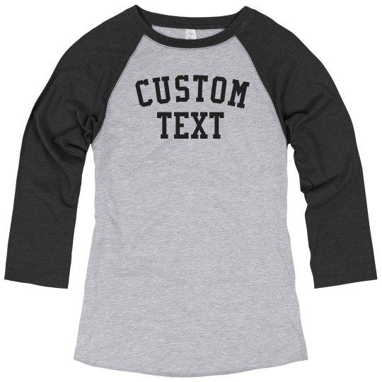 Custom Sporty V-Neck