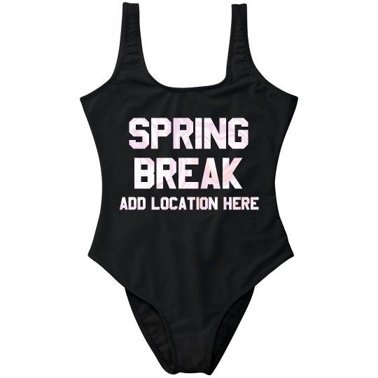 Custom Spring Break Swimsuit