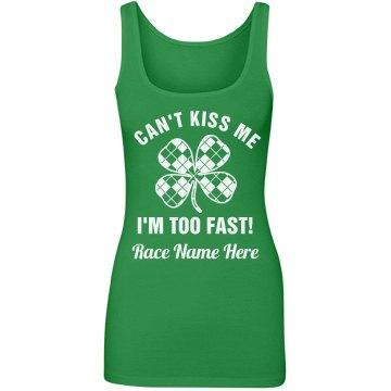 Custom St Patricks 5K Race Text