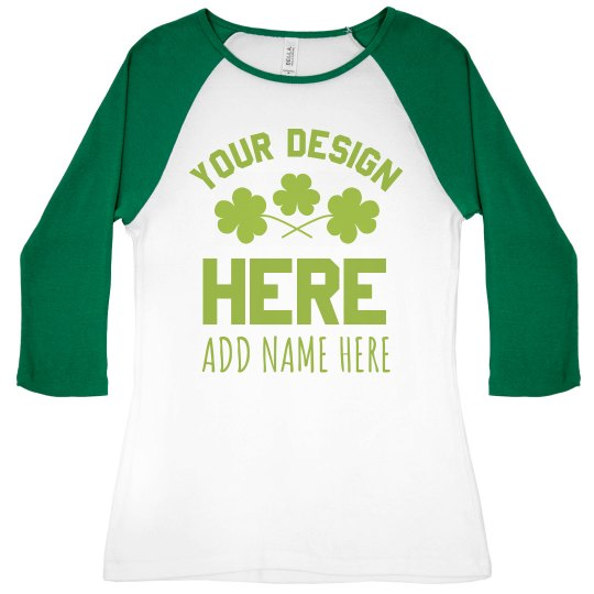 Custom St. Patricks Day Designs Add Name