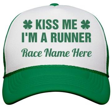 Custom St Patricks Day Race Hat