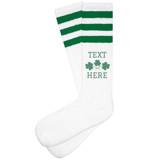 Custom St. Patrick's Day Socks