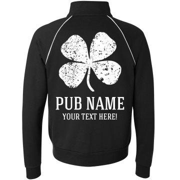 Custom St Patricks Pub Jackets