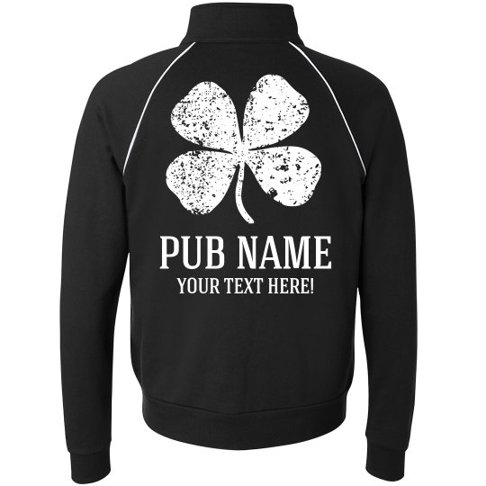 Custom St Patricks Pub Jackets