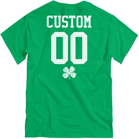 Custom St. Pat's Group Green Shirts