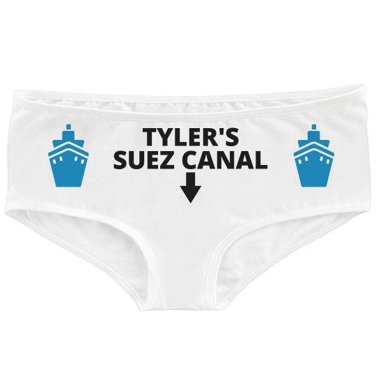 Custom Suez Canal Undies