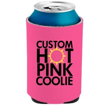 Custom Summer Can Coolies
