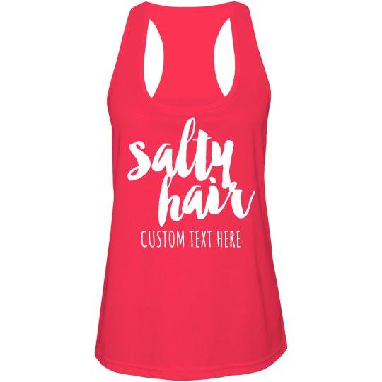 Custom Summer Travel Salty Hair