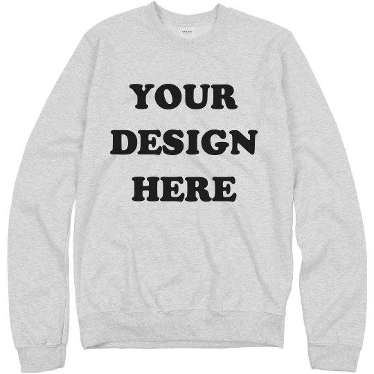 Custom Sweatshirts - No Minimums!