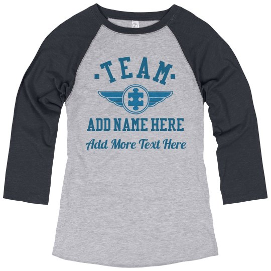 Custom Team Autism Support