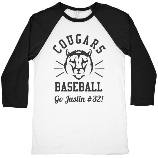 Custom Team Baseball Dad Gift