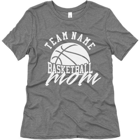 Custom Team Basketball Mom