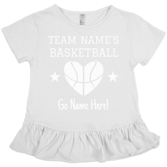 Custom Team Basketball Sister