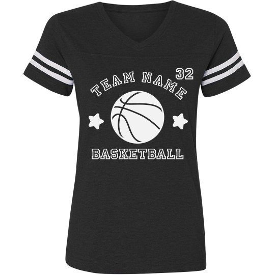 Custom Team Basketball Trendy Tee
