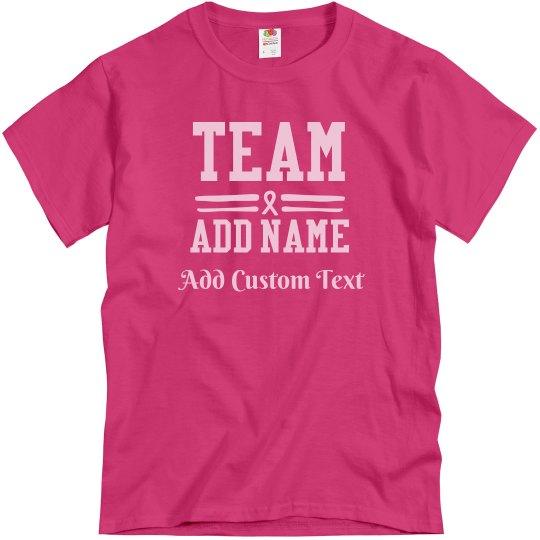 Custom Team Breast Cancer Walk