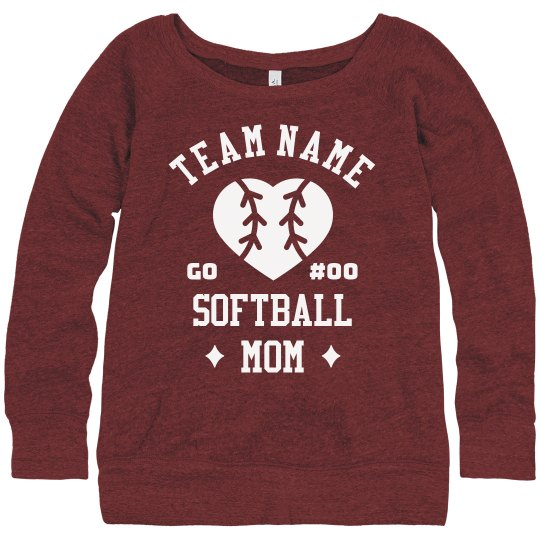 Custom Team Certified Softball Mom