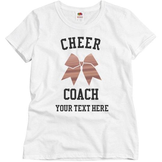 Custom Team Cheer Coach