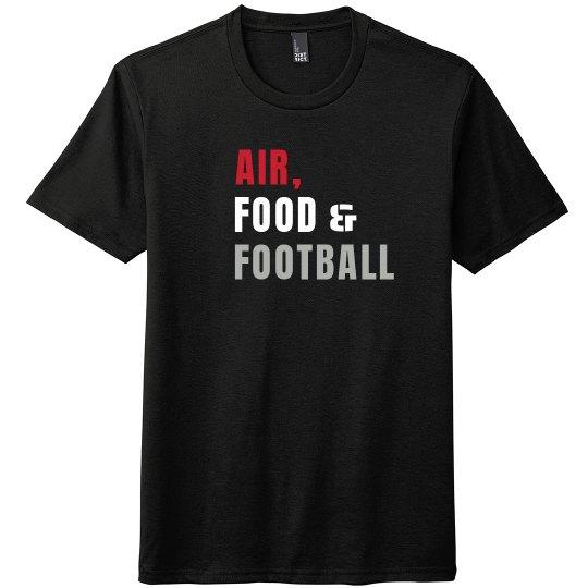 Custom Team Color, Air, Food & Football Shirt