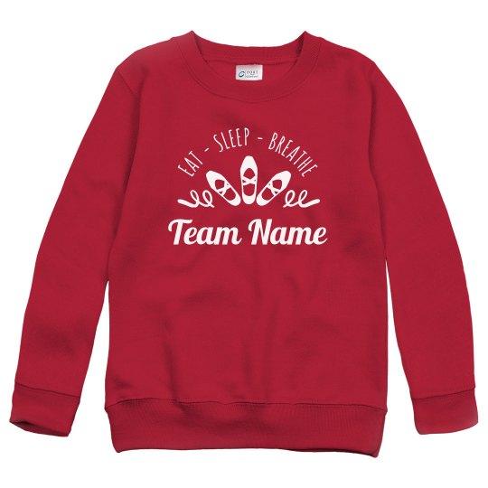 Custom Team Dance Sweater