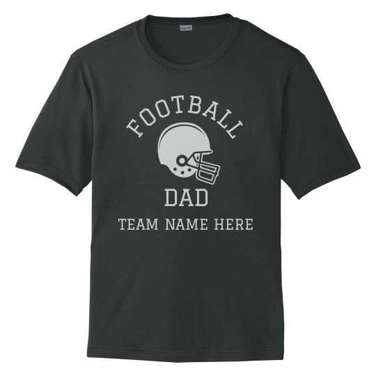 Custom Team Football Dad