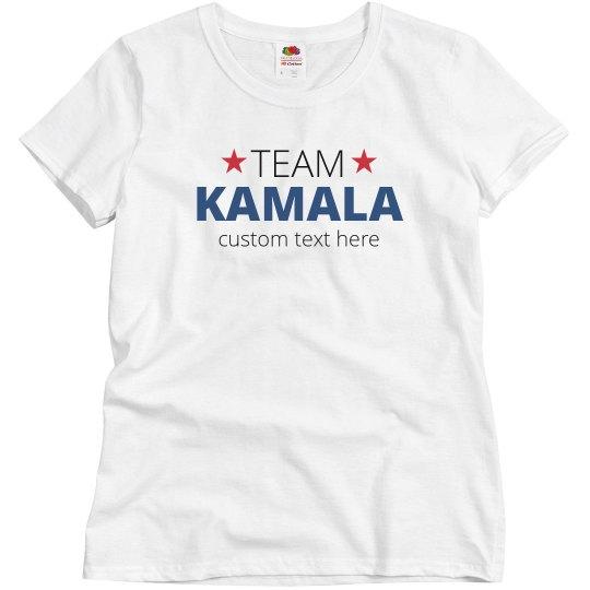 Custom Team Kamala Star Top