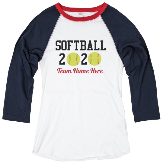 Custom Team Name 2020 Tee