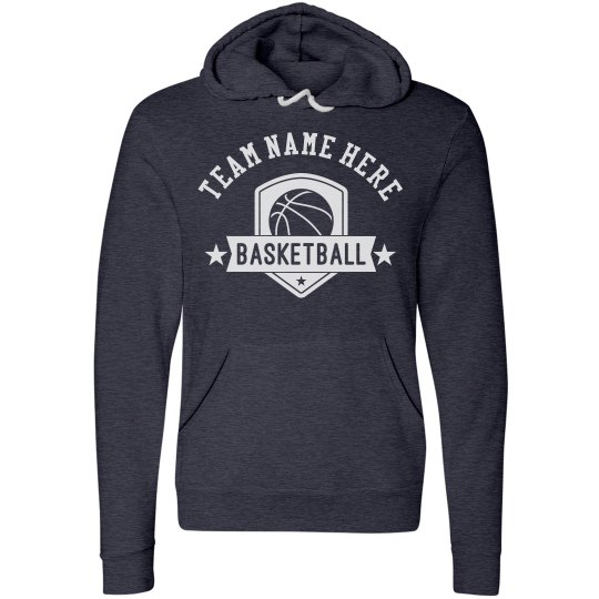 Custom Team Name, Basketball Hoodie