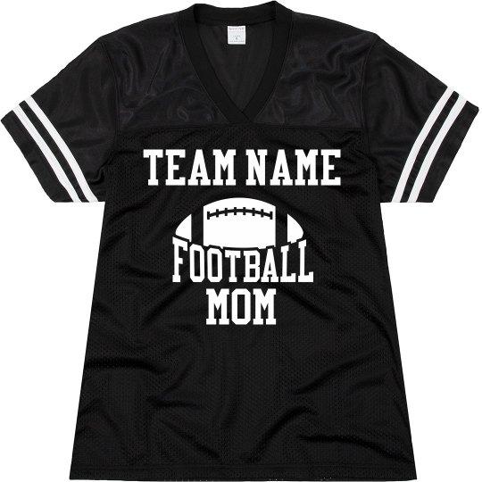 Custom Team Name Football Mom