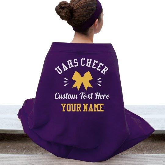 Custom Team Name/Colors Cheerleader