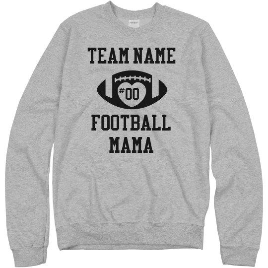 Custom Team Player Football Mama