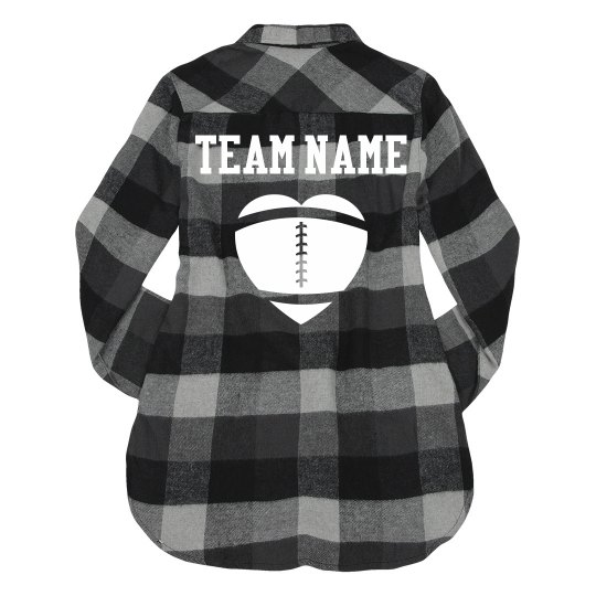 Custom Team Sports Fall Flannel