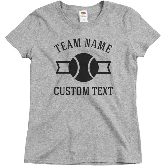 Custom Team Tennis Tees