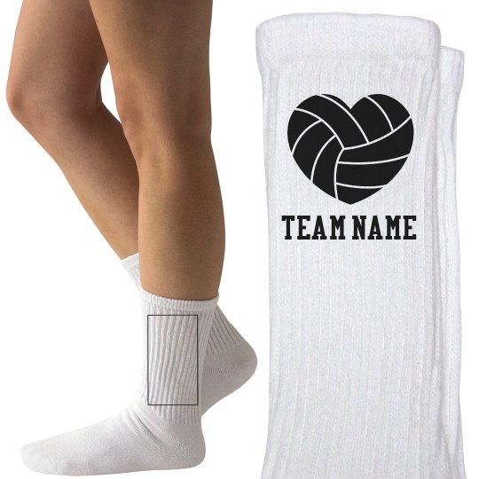 Custom Team Volleyball Socks
