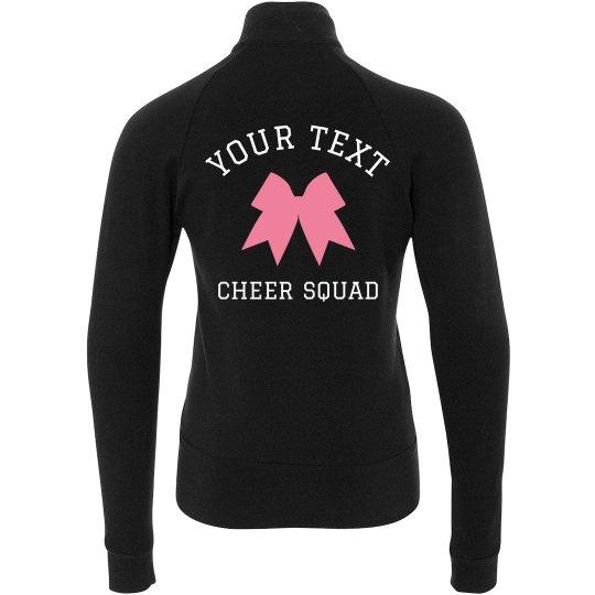 Custom Text & Art Cheerleader