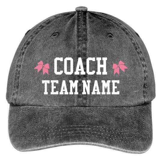 Custom Text Cheer Coach