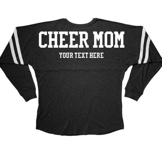 Custom Text Cheer Mom Billboard