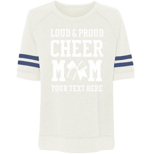 Custom Text Cheer Mom