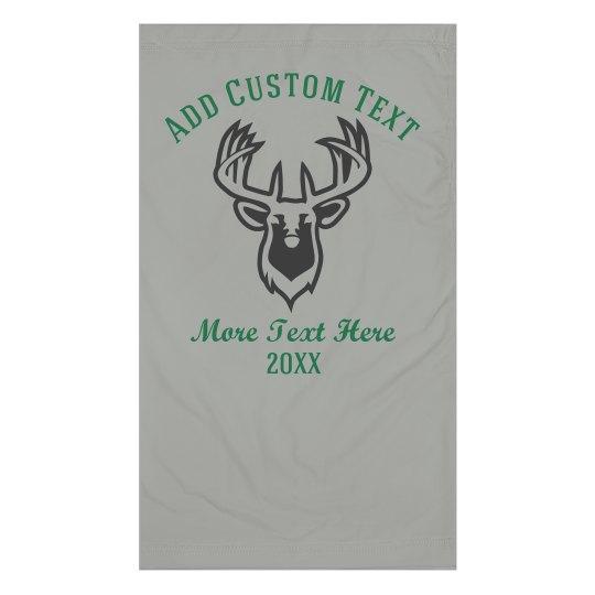 Custom Text Deer Hunting Gaiter