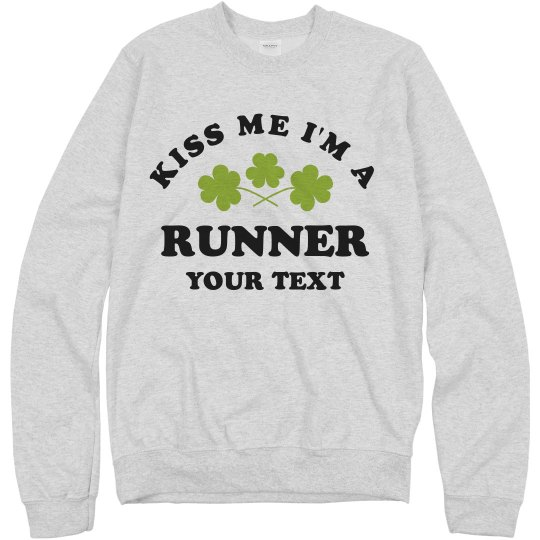 Custom Text Funny Irish St. Pat Run