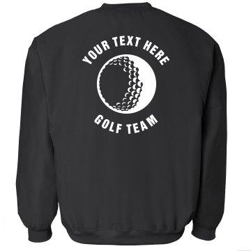 Custom Text Golf Team