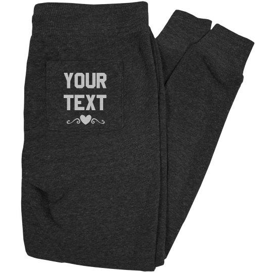 Custom Text Jogger
