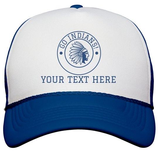 Custom Text Mascot Hat