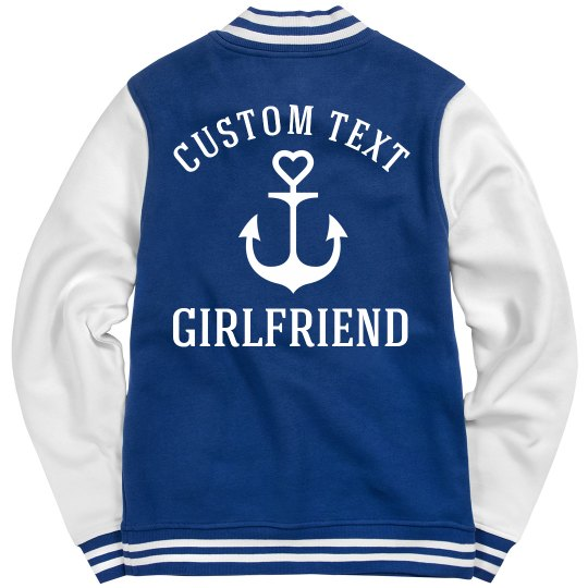 Custom Text Military Girlfriend