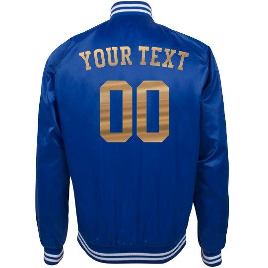 Custom Text Sports Fan Gear