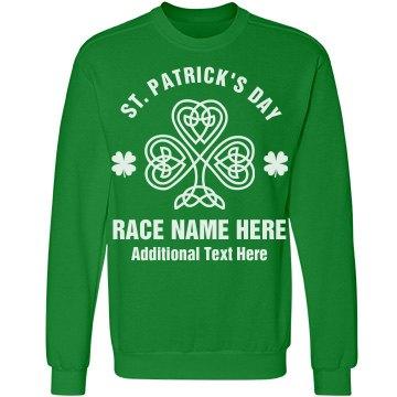Custom Text St Patricks Day Run
