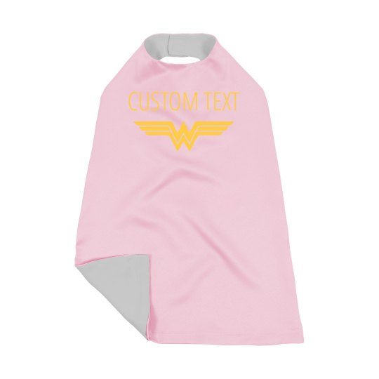 Custom Text Superhero Kids Design