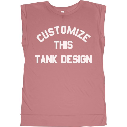 Custom Text/Color Sports Mom Tanks