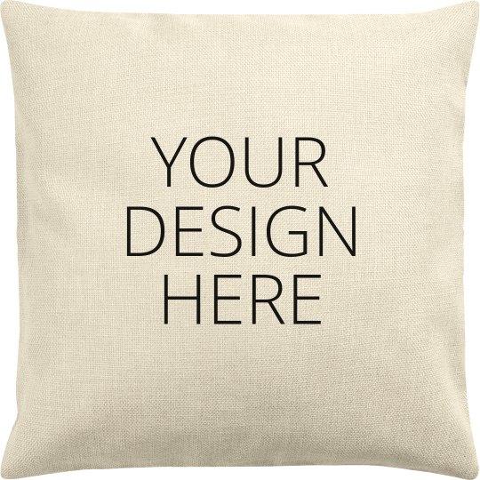 Custom Throw Pillowcase Add Text