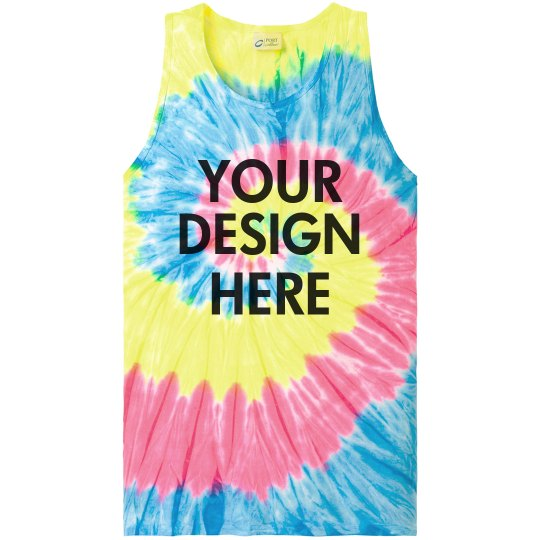 Custom Tie Dye for Summer Events