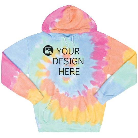 Custom Tie Dye Hoodies!